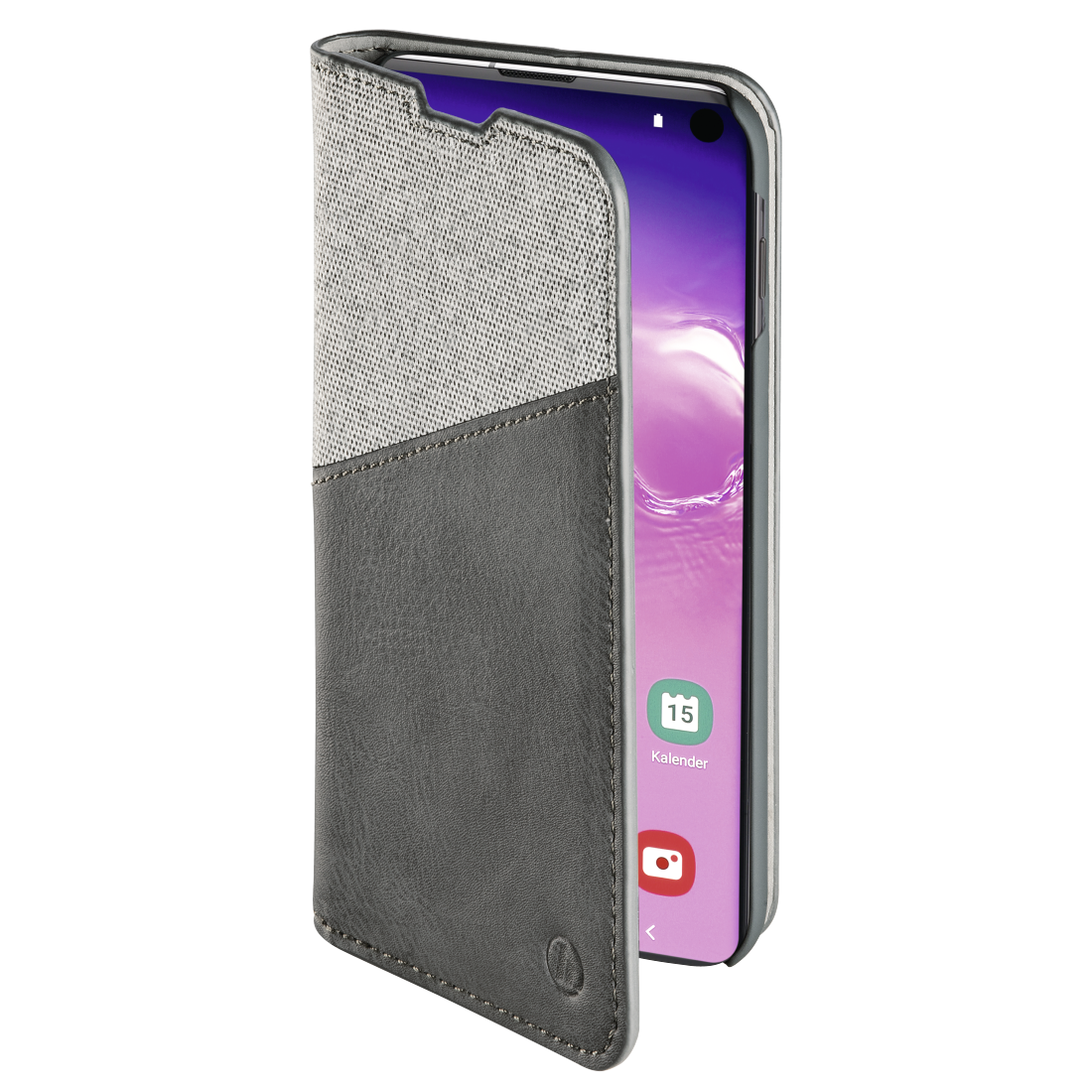 "abx3 High-Res Image 3 - Hama, ""Gentle"" Booklet for Samsung Galaxy S10, light grey"
