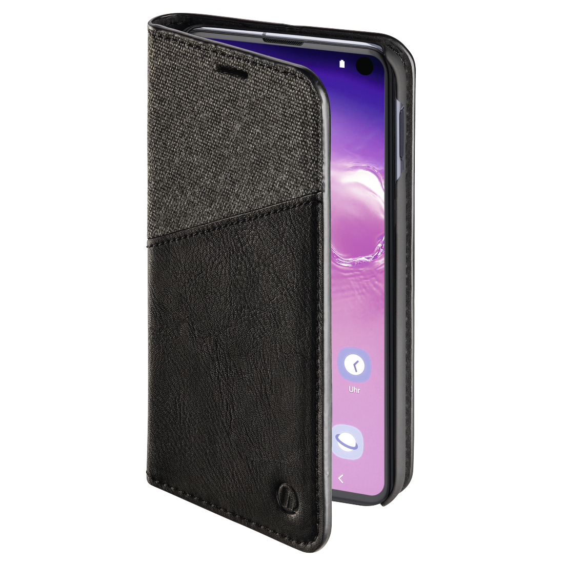 "abx3 High-Res Image 3 - Hama, ""Gentle"" Booklet for Samsung Galaxy S10e, black"