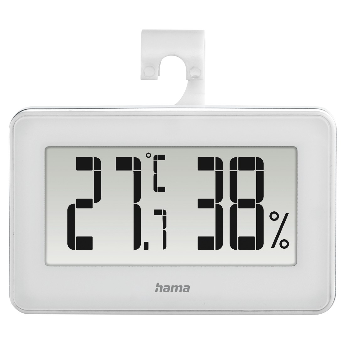"abx2 High-Res Image 2 - Hama, ""Mini"" Thermo / Hygrometer, white"