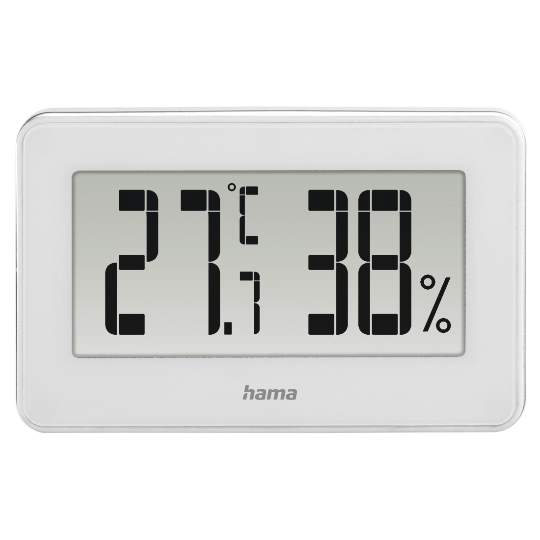 "abx3 High-Res Image 3 - Hama, ""Mini"" Thermo / Hygrometer, white"