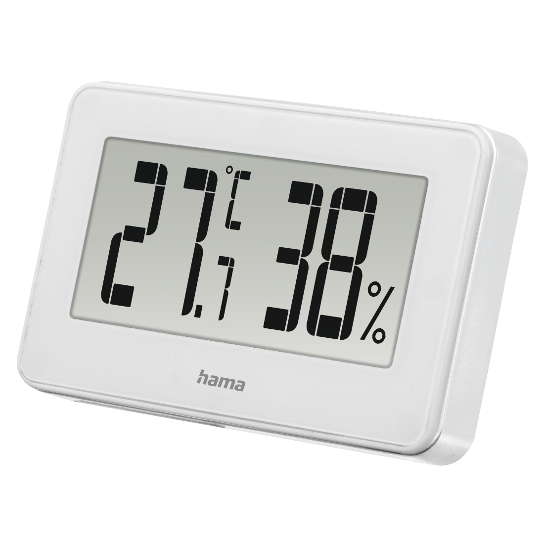 "abx4 High-Res Image4 - Hama, ""Mini"" Thermo / Hygrometer, white"
