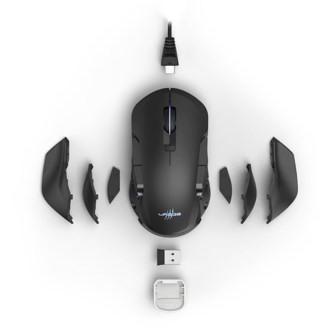 "dex High-Res Detail - uRage, ""1,000 Morph unleashed"" Gaming Mouse"