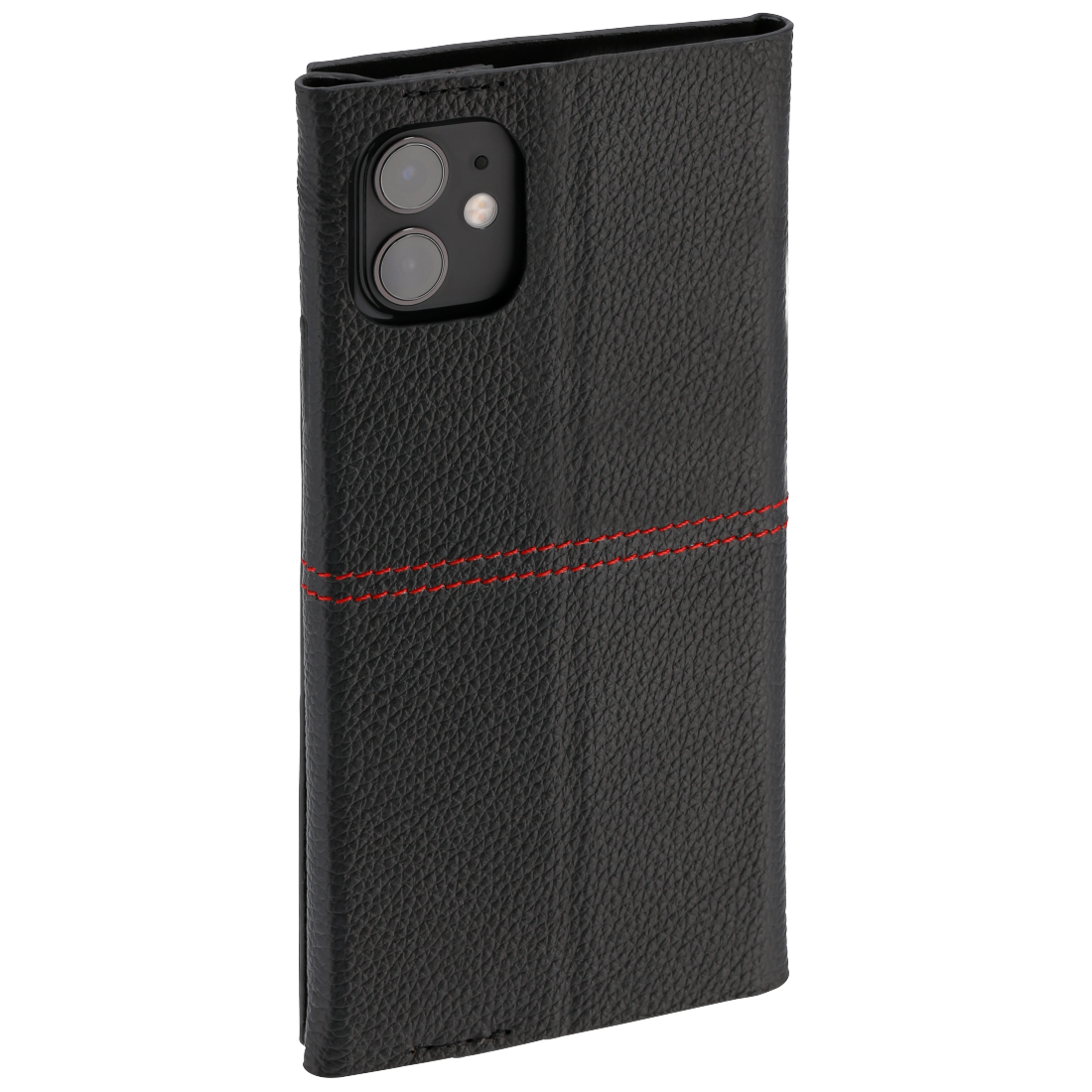 "abx4 High-Res Image4 - Hama, Booklet ""Red Sensation No. 6"" for Apple iPhone 11, black/red"