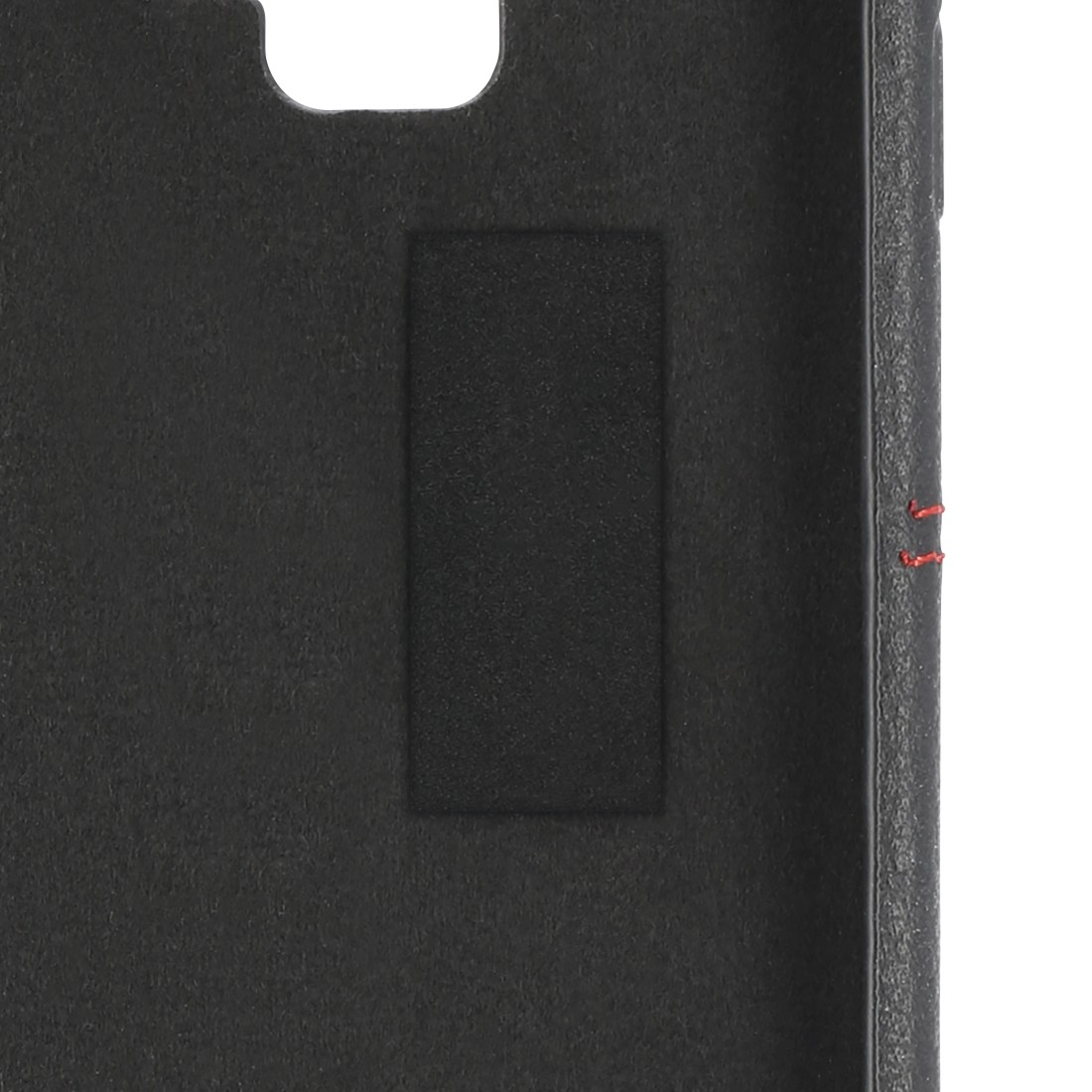 "dex2 High-Res Detail 2 - Hama, Booklet ""Red Sensation No. 6"" for Apple iPhone 11, black/red"