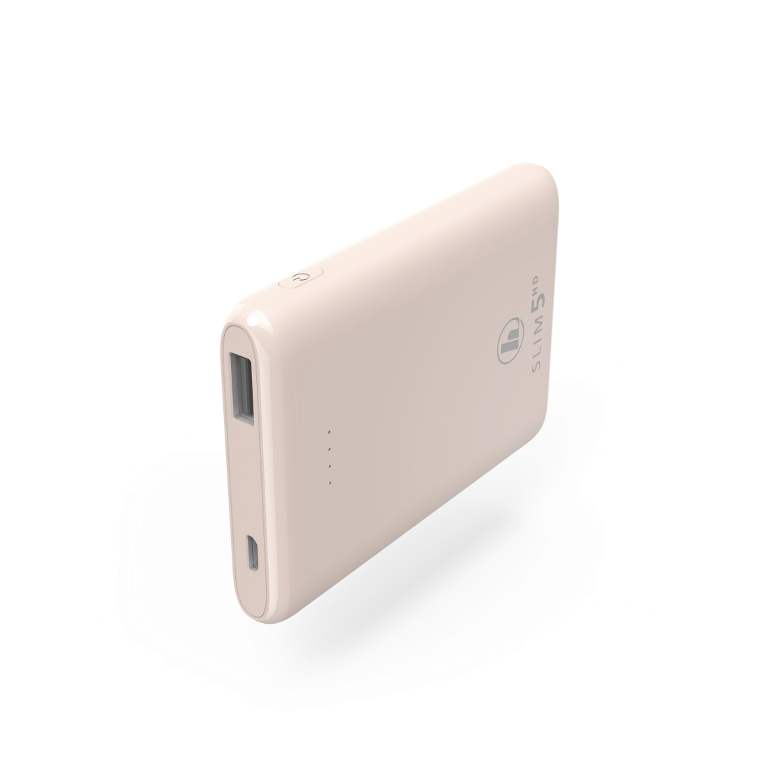 "abx High-Res Image - Hama, ""SLIM 5HD"" Power Pack, 5000 mAh, pale pink"