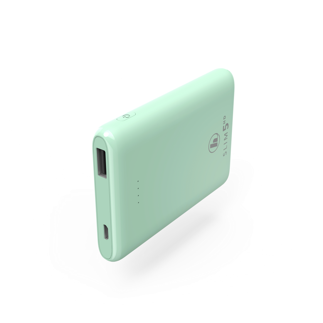 "abx High-Res Image - Hama, ""SLIM 5HD"" Power Pack, 5000 mAh, mint green"