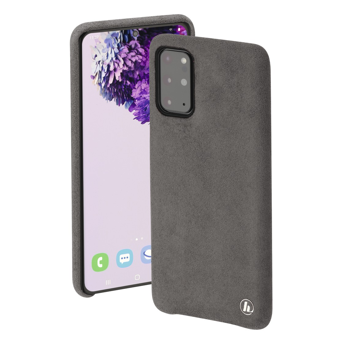 "abx High-Res Image - Hama, ""Finest Touch"" Cover for Samsung Galaxy S20+ (5G), anthracite"