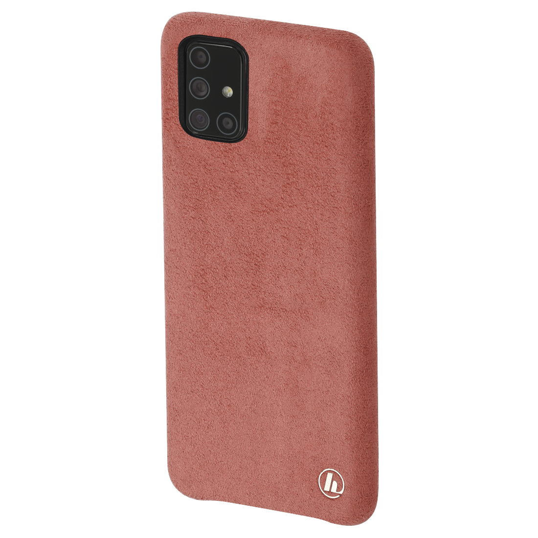 "abx3 High-Res Image 3 - Hama, ""Finest Touch"" Cover for Samsung Galaxy A71, coral"
