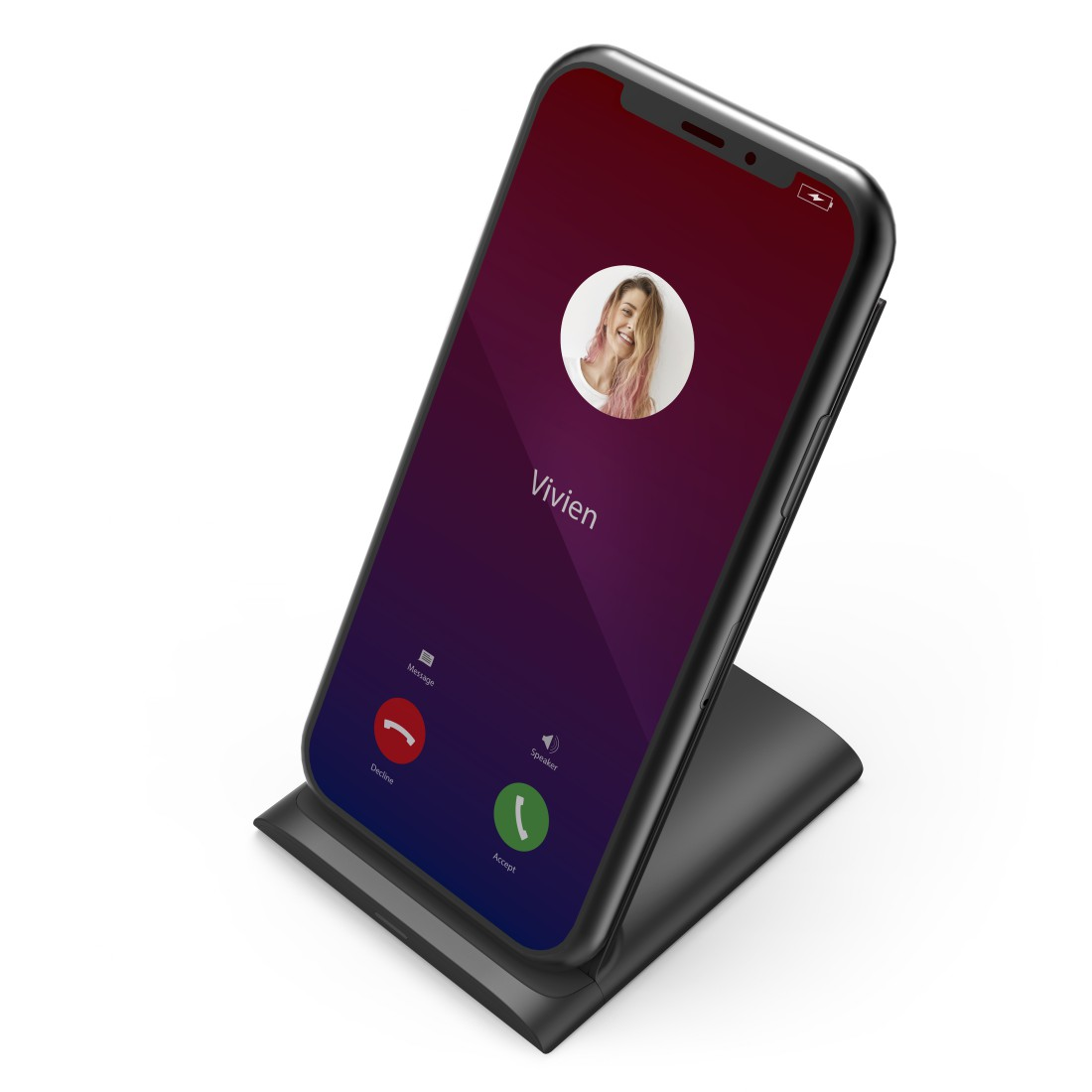 "awx High-Res Appliance - Hama, ""QI-FC10S"" Wireless Charger, black"