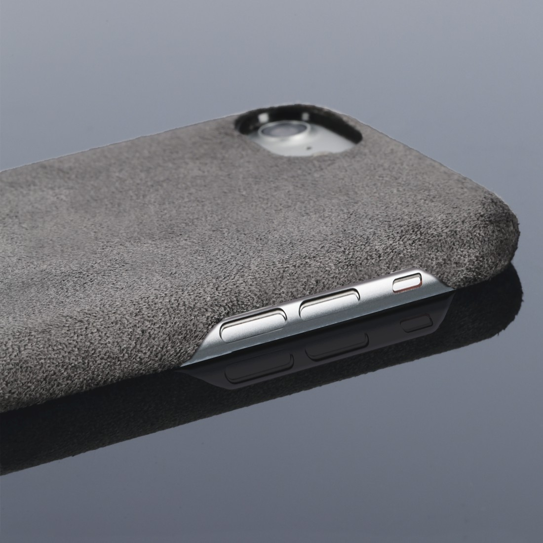 "dex High-Res Detail - Hama, ""Finest Touch"" Cover for Apple iPhone 6/6s/7/8/SE 2020, anthracite"