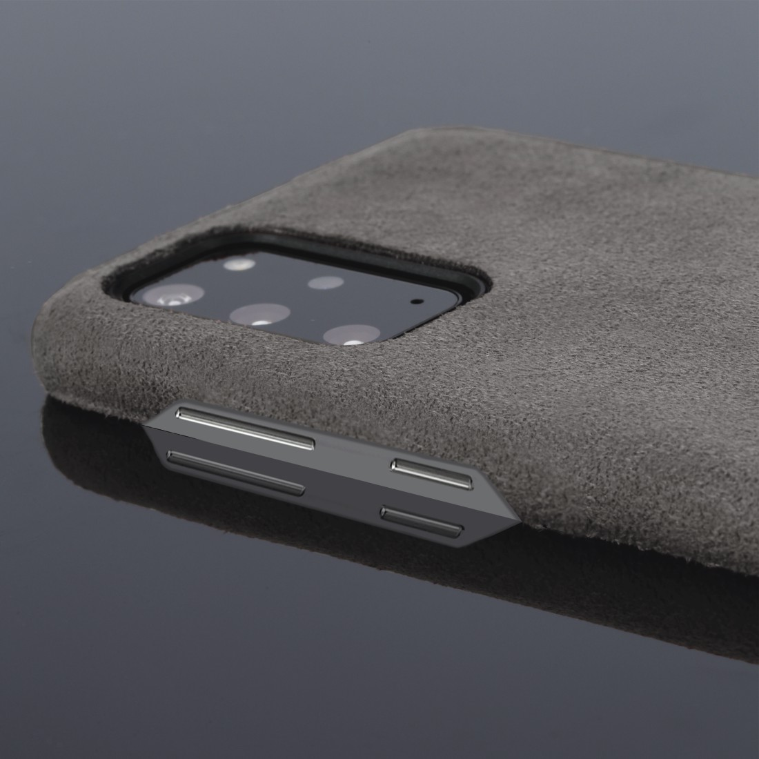 "dex High-Res Detail - Hama, ""Finest Touch"" Cover for Samsung Galaxy S20+ (5G), anthracite"