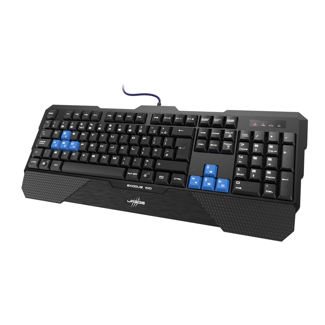"abx2 High-Res Image 2 - uRage, ""Lethality"" Gaming Keyboard"